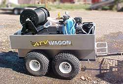 atv trailer with tank plastic fabricator
